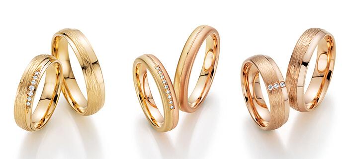 Sechs goldene Ringe