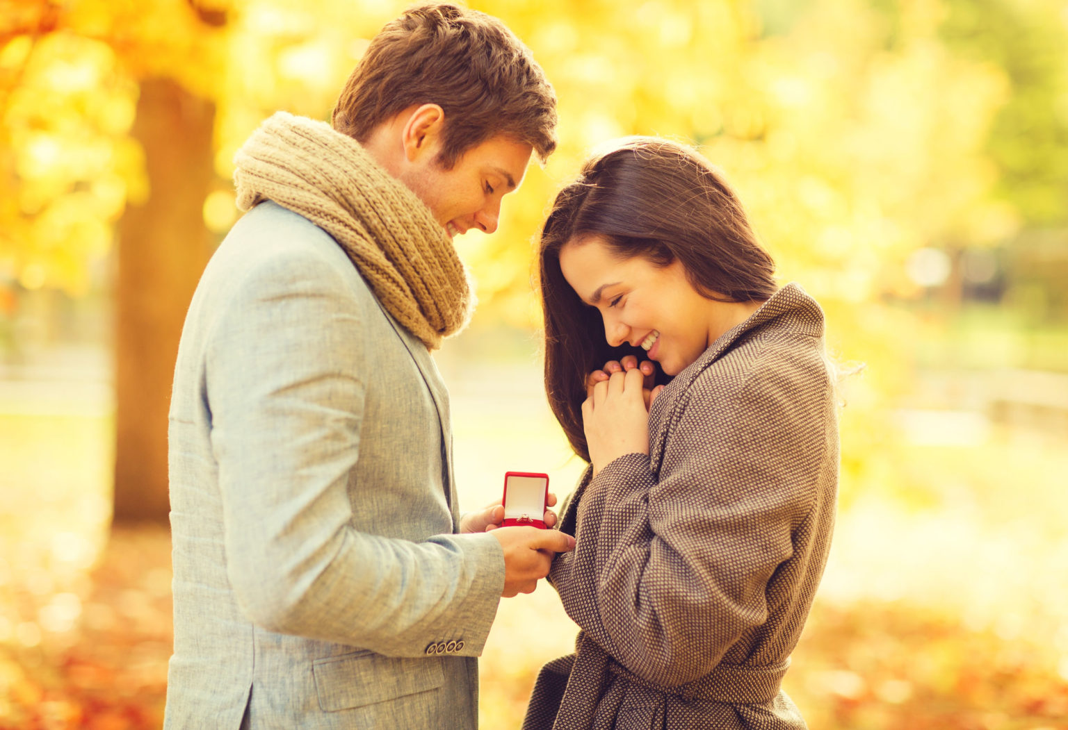 verlobung mann und frau