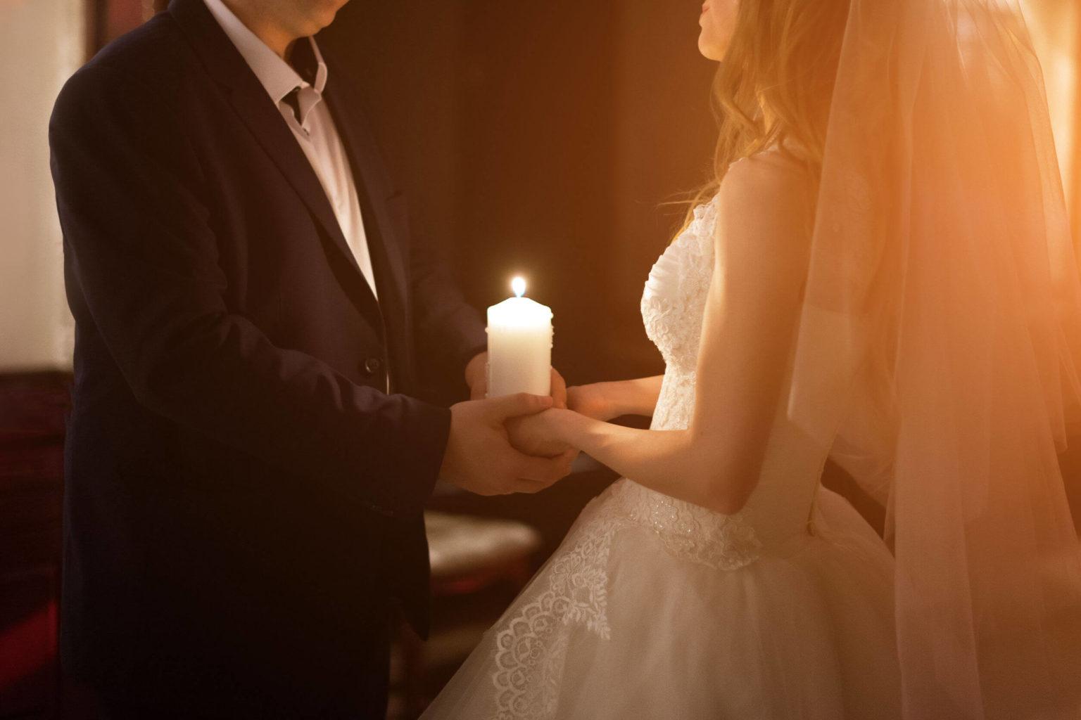 traditionelle Hochzeitsnacht